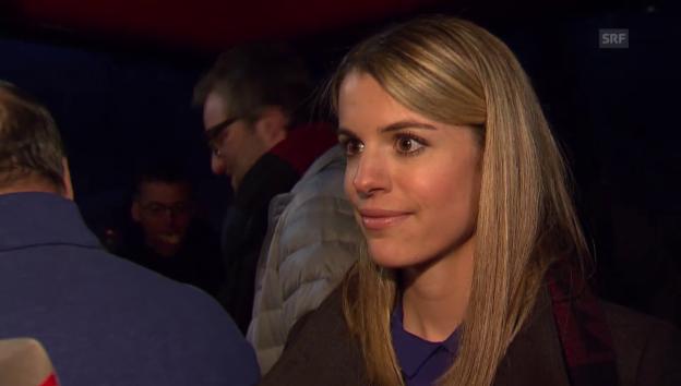 Video «Laura Bucher über ihren Freund Dario Cologna» abspielen