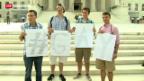 Video «Historischer Erfolg für Homo-Ehe in den USA» abspielen