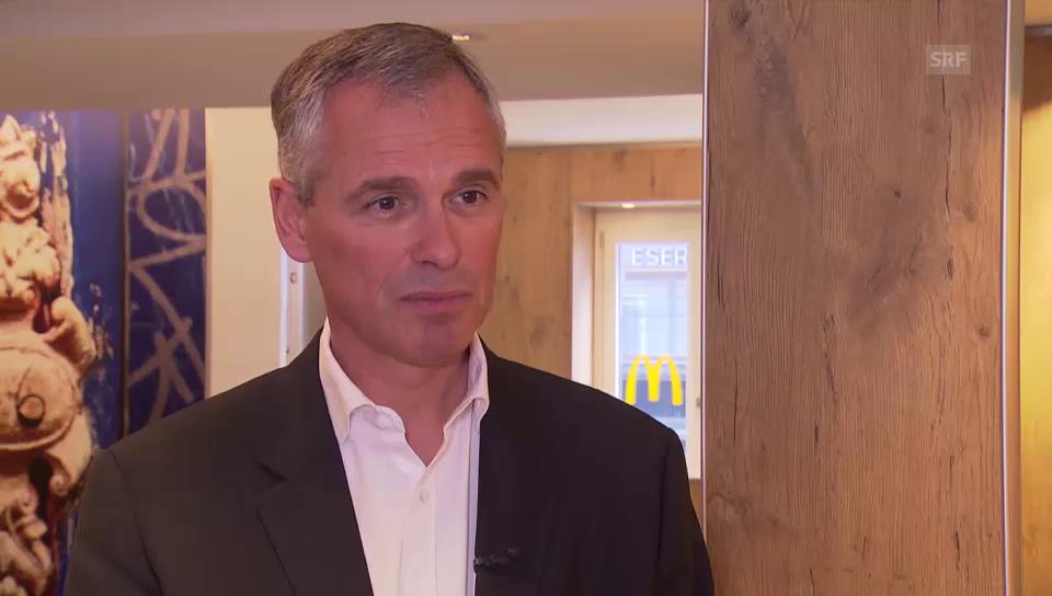 Interview mit Harold Hunziker, Chef McDonald's Schweiz