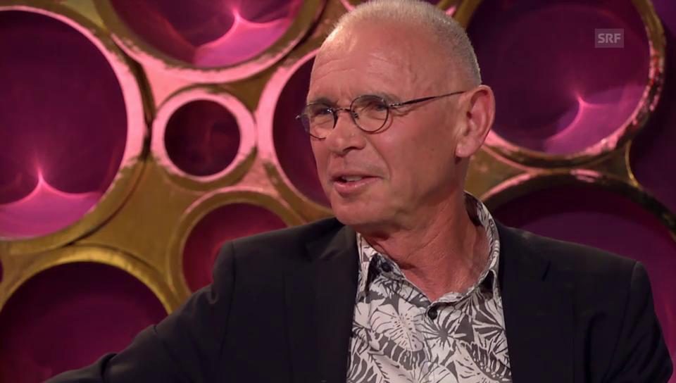 Hannes Schmid über seine Freundschaft zu den Rockstars