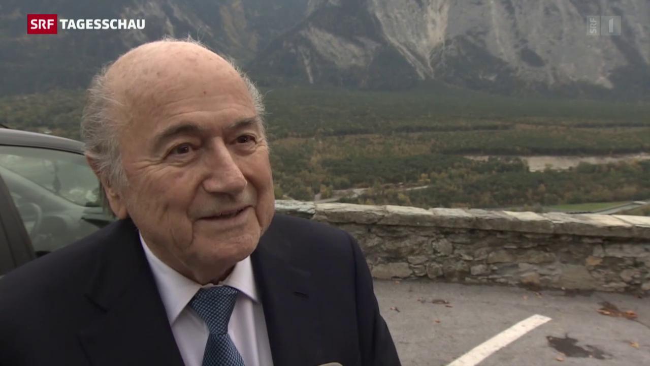 Jetzt spricht Joseph Blatter