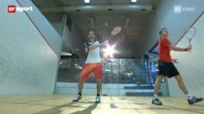 Video ««Tscheggsch de Pögg»: Warum Squashbälle mit Wasser gefüllt sind » abspielen