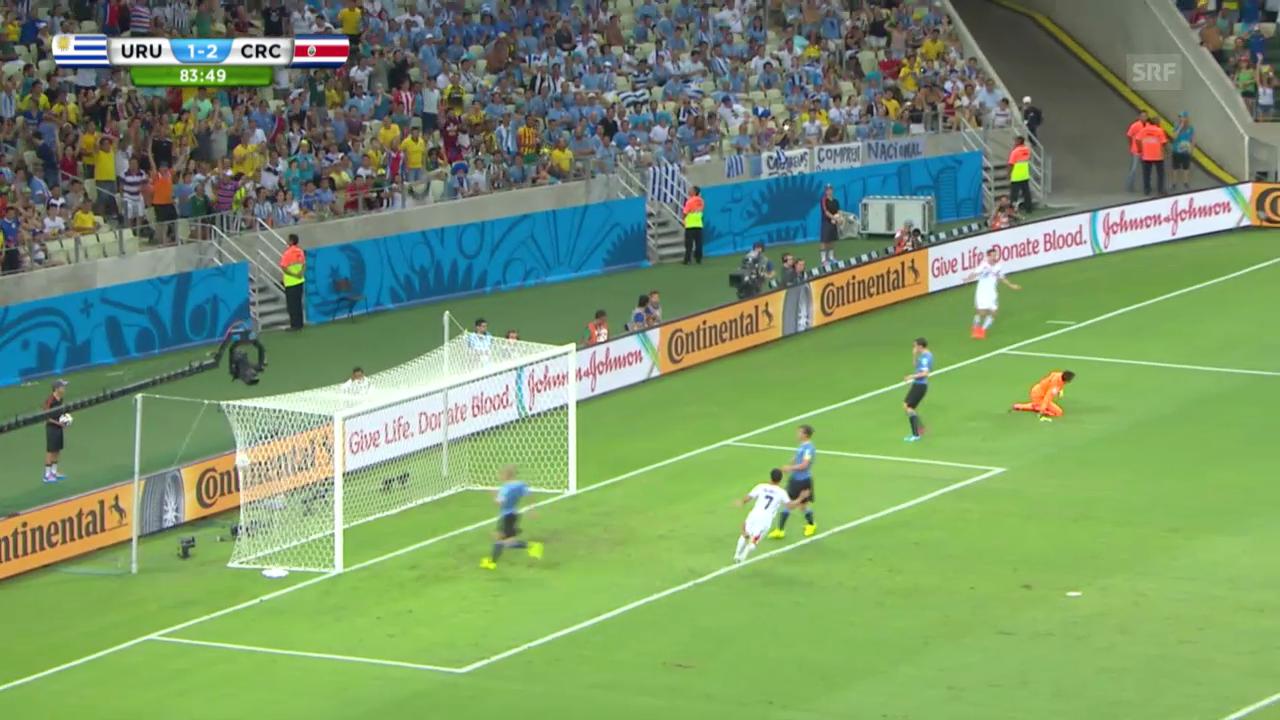 FIFA WM 2014: Uruguay - Costa Rica: Die Highlights