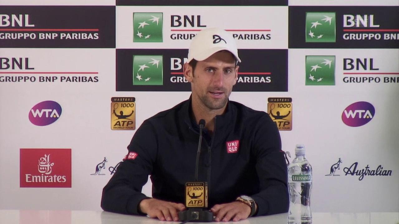 Djokovic: «Ich bin Andre sehr dankbar»