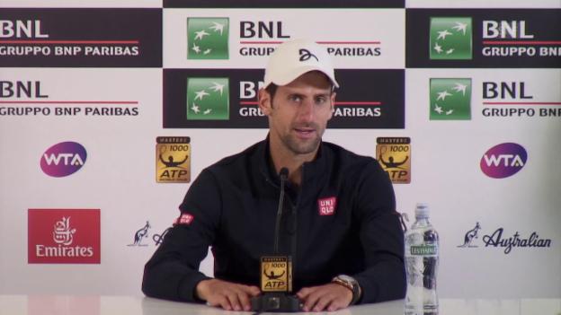 Video «Djokovic: «Ich bin Andre sehr dankbar»» abspielen