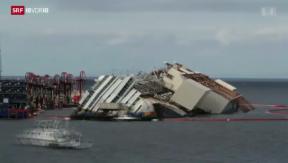 Video «Milliarden-Bergung eines Kreuzfahrtschiffs» abspielen