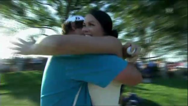 Video «Dufners Emotionen nach dem Triumph» abspielen