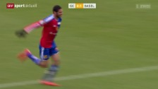 Video «Fussball, Super League: GC - Basel» abspielen
