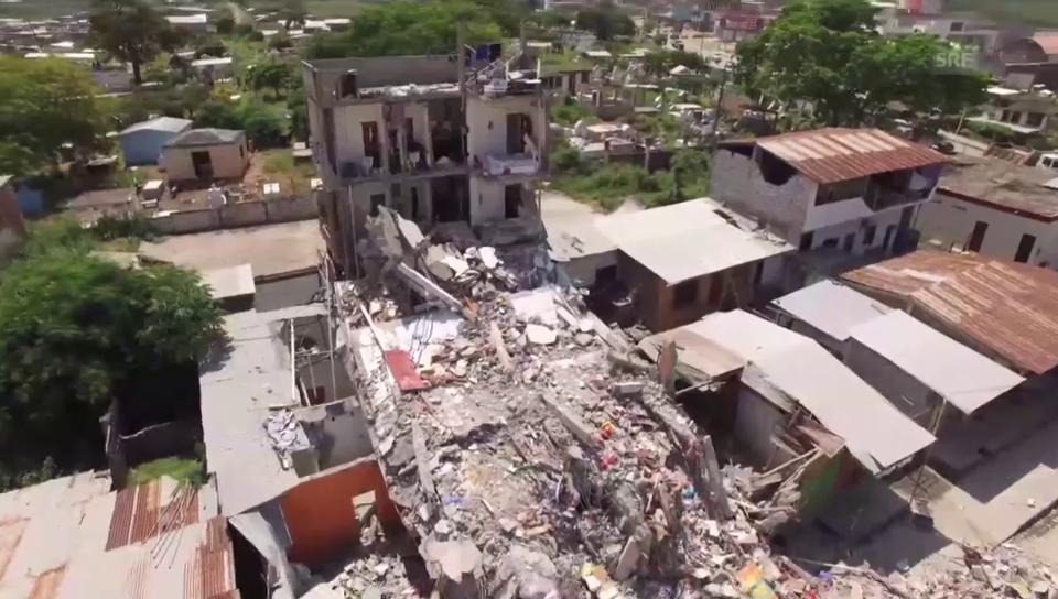 Katastrophenregionen - mit der Drohne aufgenommen