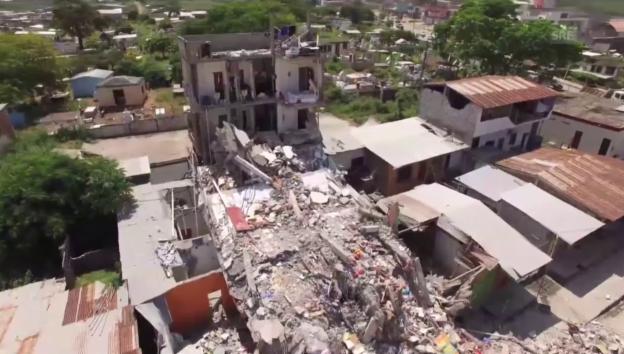 Video «Katastrophenregionen - mit der Drohne aufgenommen» abspielen
