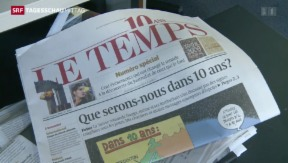Video «Ringier kauft Le Temps» abspielen