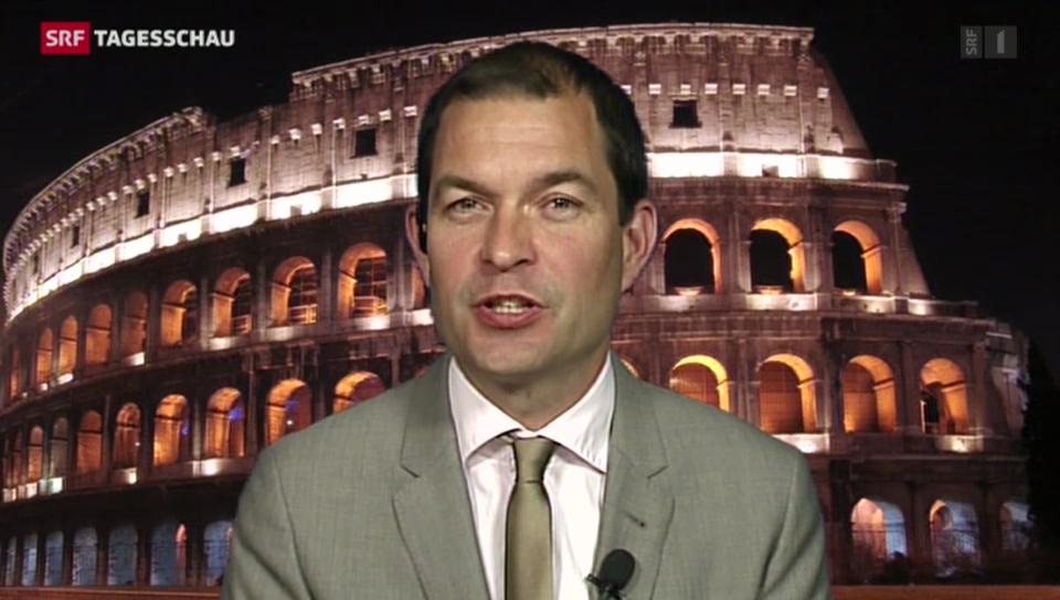 Einschätzungen von Philipp Zahn in Rom