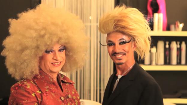 Video «Liberace - zwei Schweizer Drag Queens» abspielen
