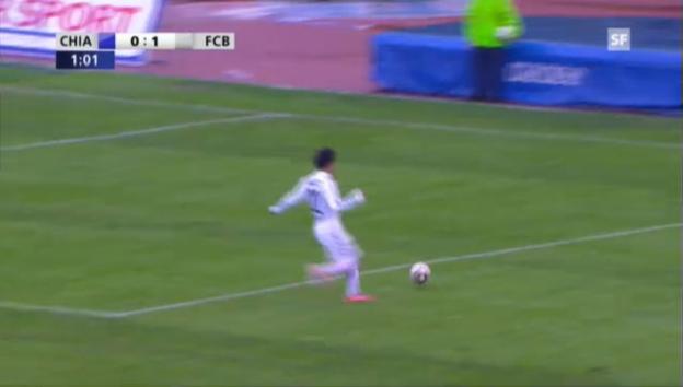 Video «Cup: Chiasso - Basel («sportpanorama»)» abspielen