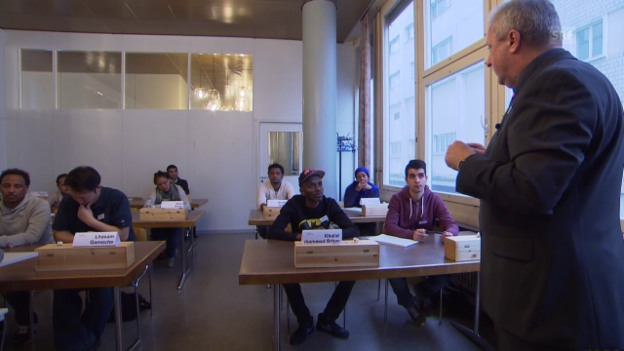 Video «Flüchtlinge haben in der Gastronomie die grössten Chancen.» abspielen