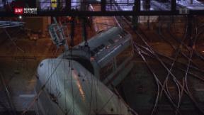 Video «ICE im Bahnhof Basel entgleist» abspielen
