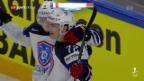 Video «Eishockey: WM, FRA-BLR und CZE-SVK» abspielen