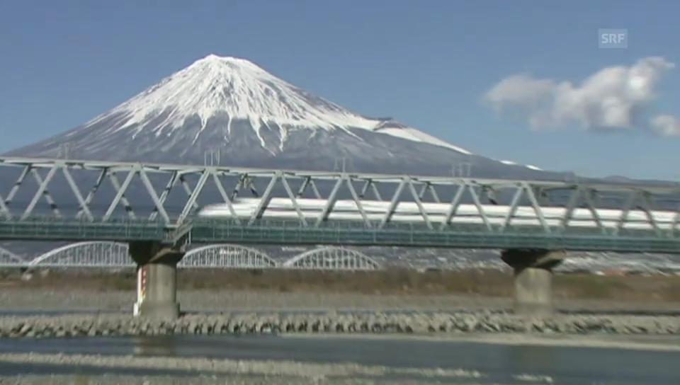 Japan feiert: Vor 50 Jahren startete der Schnellzug Shinkansen
