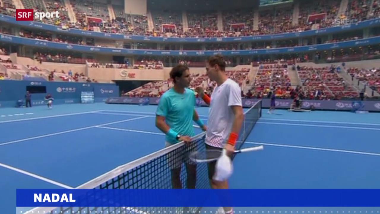 Tennis: Nadal wieder Nummer 1 («sportaktuell»)