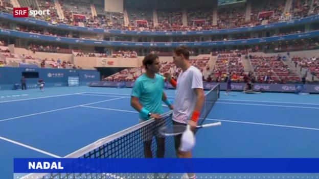 Video «Tennis: Nadal wieder Nummer 1 («sportaktuell»)» abspielen