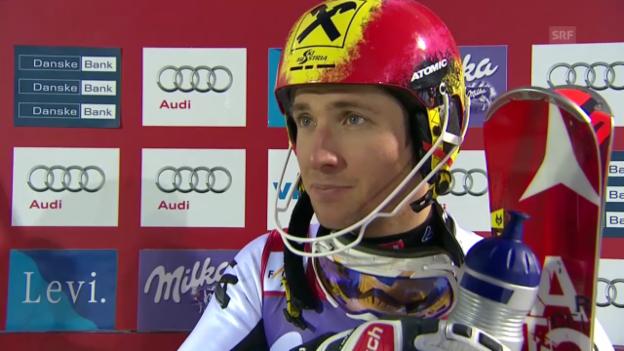 Video «Ski Alpin: Interview mit Marcel Hirscher» abspielen