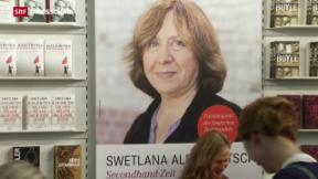 Video «Literatur-Nobelpreis für Swetlana Alexijewitsch» abspielen