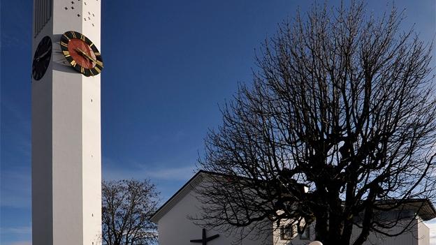 Glockengeläut der Kreuzkirche in Wil