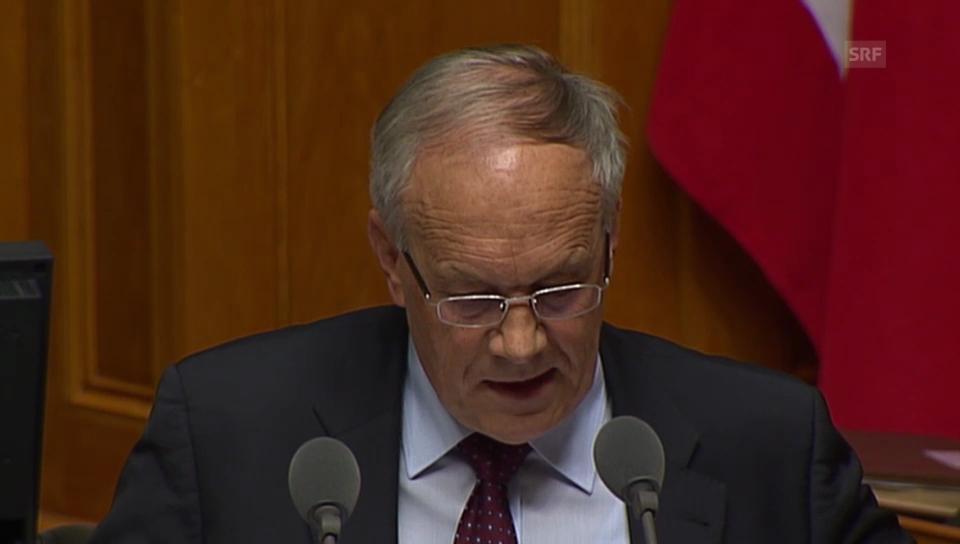 Schneider-Ammann: «Die Menschrechte sind im Abkommen verankert»