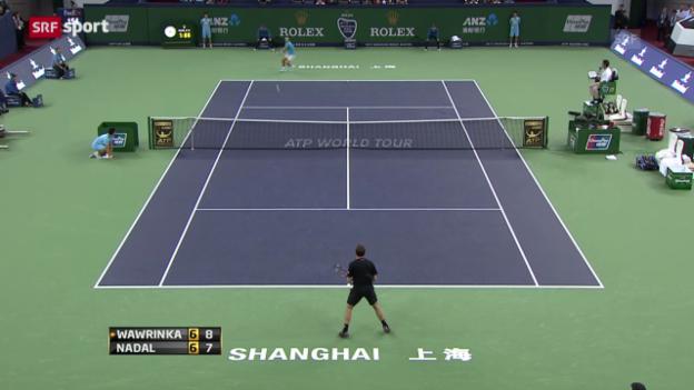 Video «Wawrinka - Nadal («sportaktuell»)» abspielen