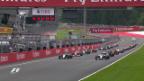 Video «Live-Highlights GP Österreich» abspielen
