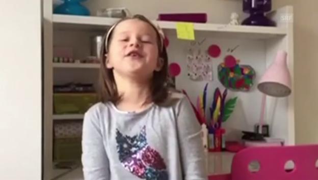 Video «Samichlaus-Vers von Sunny» abspielen