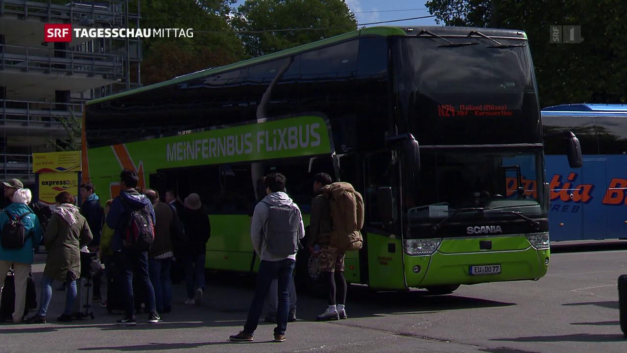 Der Bundesrat will den Busverkehr liberalisieren