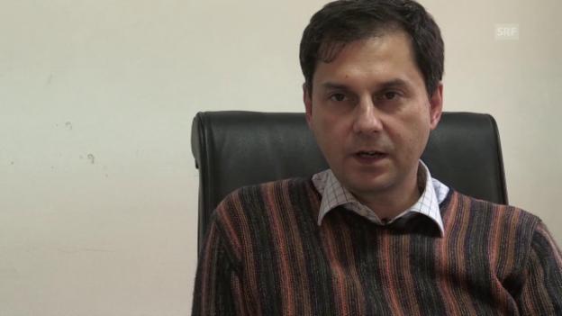 Video «Haris Theoharis über griechische Steuerhinterzieher (eng.)» abspielen