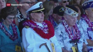 Video «75 Jahre nach Pearl Harbor» abspielen