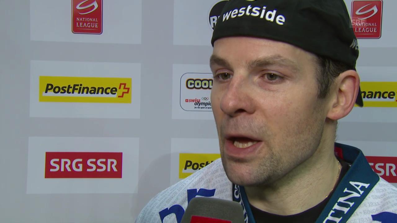 Eishockey: Marc Lüthi und Martin Plüss im Interview («sportaktuell», 4.3.2014)