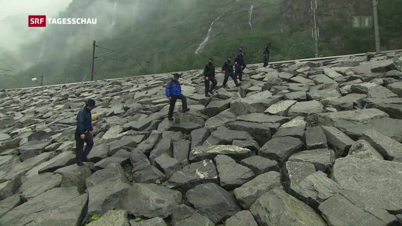 Sicherheit Gotthard: Fast jeder Stein wird umgedreht