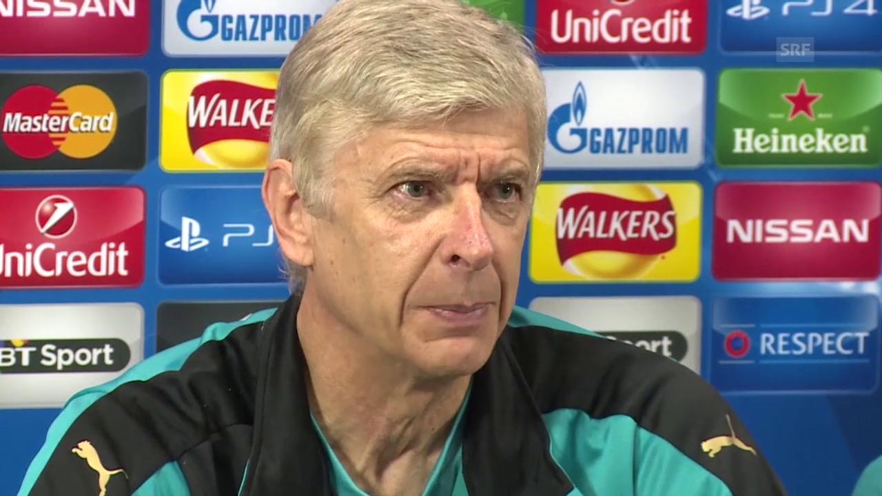 Fussball: Wenger über Bayern München