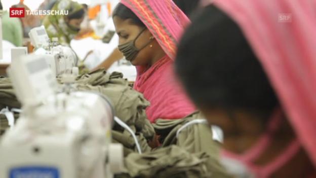 Video «Nach Brand und Einsturz: Textilbranche vor Umdenken?» abspielen