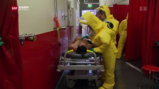 Video «Einsatzkräfte üben den Super-Gau im AKW» abspielen