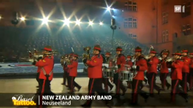 Video «New Zealand Army Band» abspielen