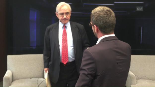 Video «E.J. Dionne im Gespräch mit Peter Düggeli» abspielen