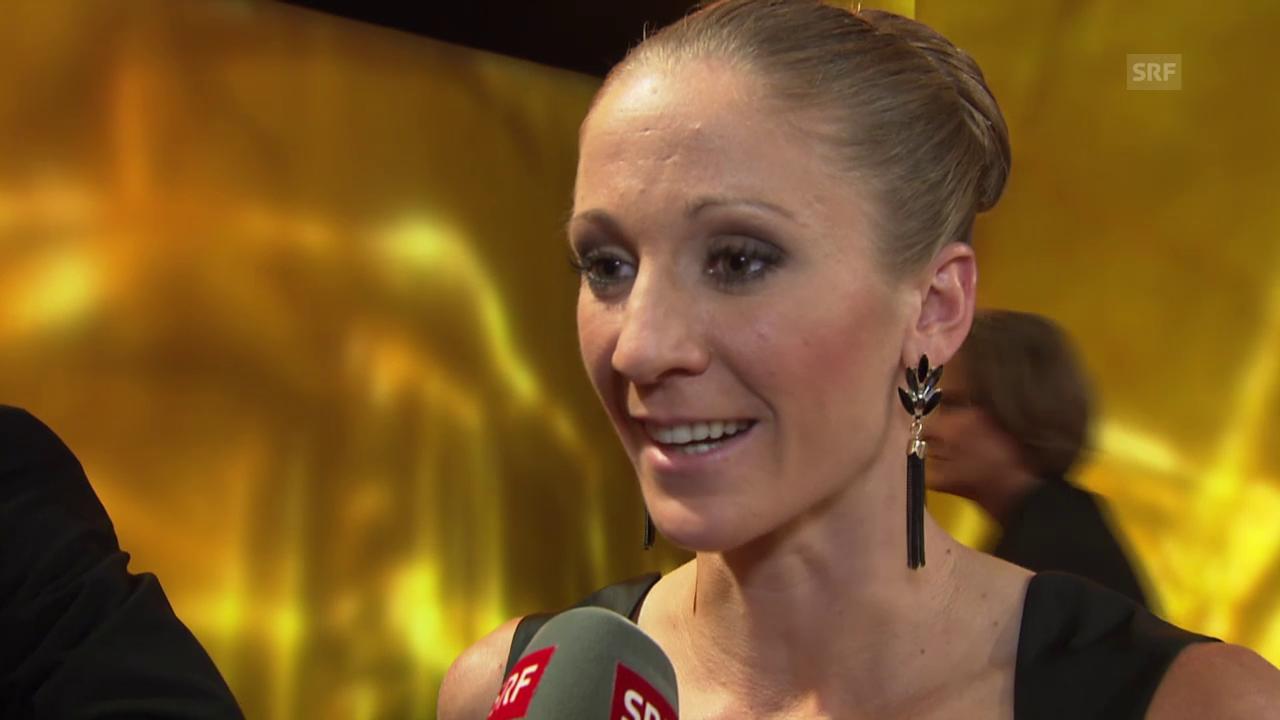 Sports Awards: Siegerinterview mit Daniela Ryf