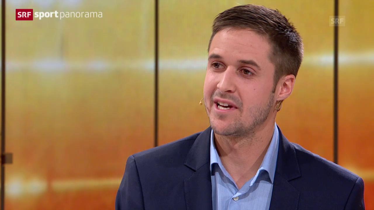 Tom Lüthi zu Gast im sportpanorama 1.11.2015