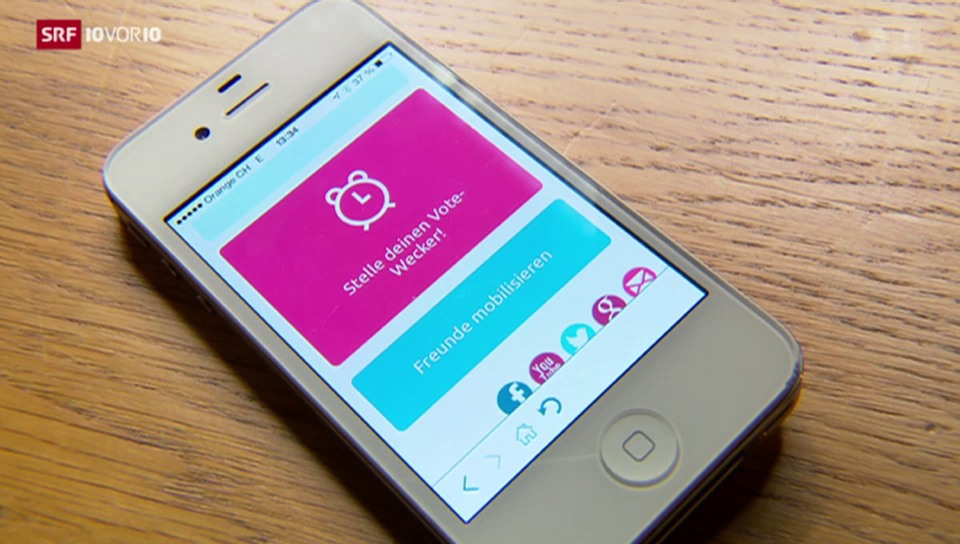 App soll Jugendliche für die Politik gewinnen