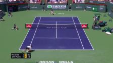 Link öffnet eine Lightbox. Video Federer rutscht, kämpft – und verliert abspielen