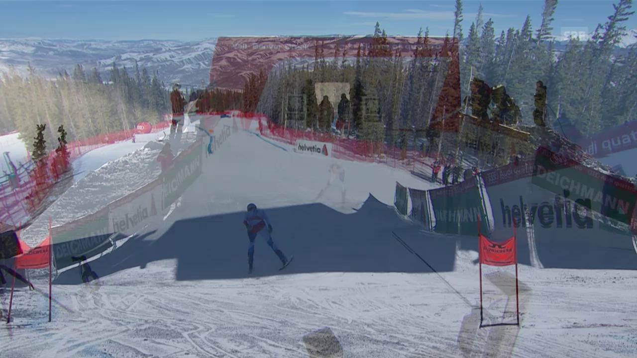Ski: WM 2015 Vail/Beaver Creek, Abfahrt Frauen, Fahrt Nadja Jnglin-Kamer