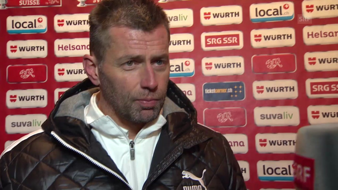 Interview mit Michael Skibbe nach Cup-Out («sportlive»)