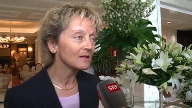 Video «Bundesrätin Widmer-Schlumpf über den G-20-Gipfel» abspielen