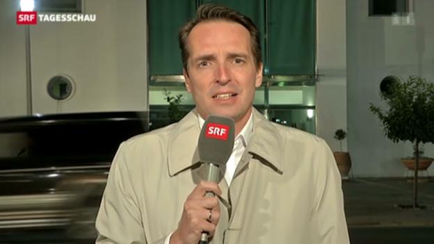 Video «SRF-Sonderkorrespondent Florian Inhauser, Nikosia» abspielen