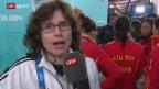 Video «Curling: Interview mit den Schweizer Curlerinnen» abspielen
